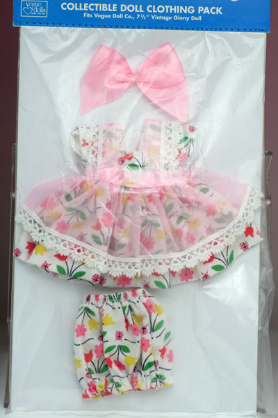 フラワー・フロリック、ビンテージ・ジニー用ドレスセット 7VCP18 Vintage Ginny (Vouge Doll)