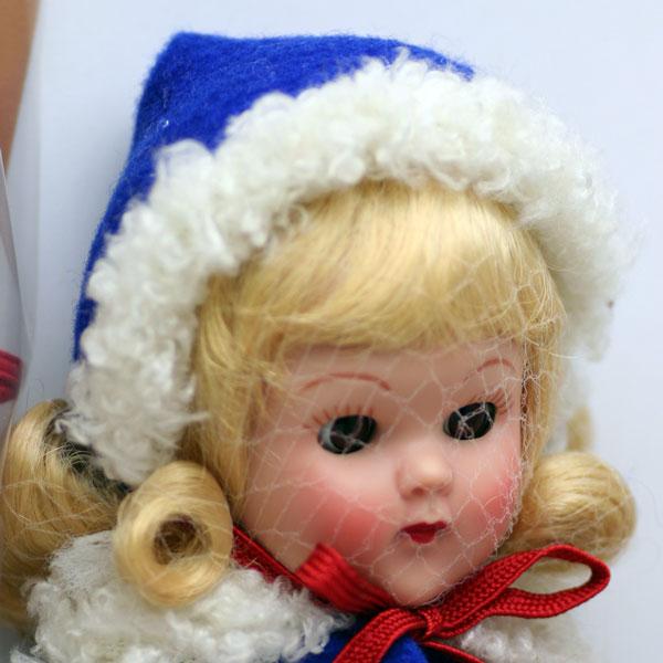 ジニー・スキーヤー、ブロンド Ginny Skier-Blonde Vintage Ginny (Vouge Doll)