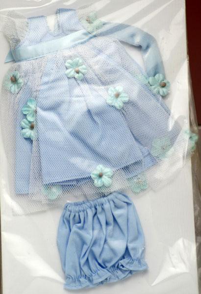 ビンテージ・ジニー専用ブルー・フォーマル、ドレスセット Vintage Ginny (Vouge Doll)