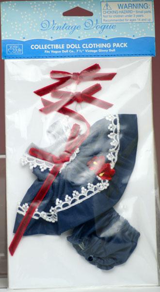 ネイビー・デイズ、ビンテージ・ジニー用ドレスセット Vintage Ginny (Vouge Doll)
