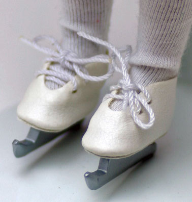 アイス・スケート・シューズ Tiny Betsy McCall、Tiny Ann Estelle 兼用シューズ