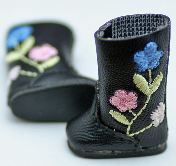 Tiny Betsy McCall shoes Floral Boots フローラル・ブーツ#7013