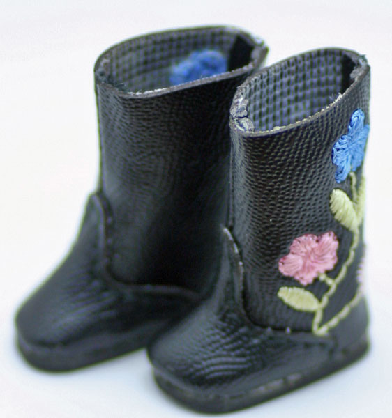 Tiny Betsy McCall シューズ フローラル・ブーツ#7013 Floral Boots