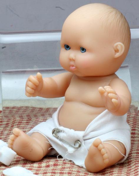 Berenguer ベレンゲールの5インチ赤ちゃん (その1)