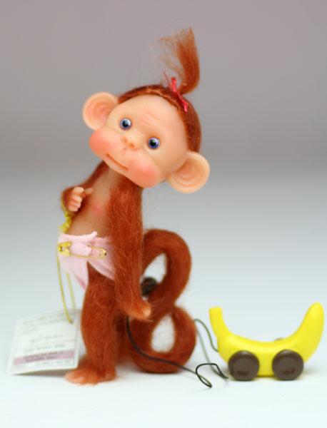 Monkey Toddles モンキー・タドルズ 11cm