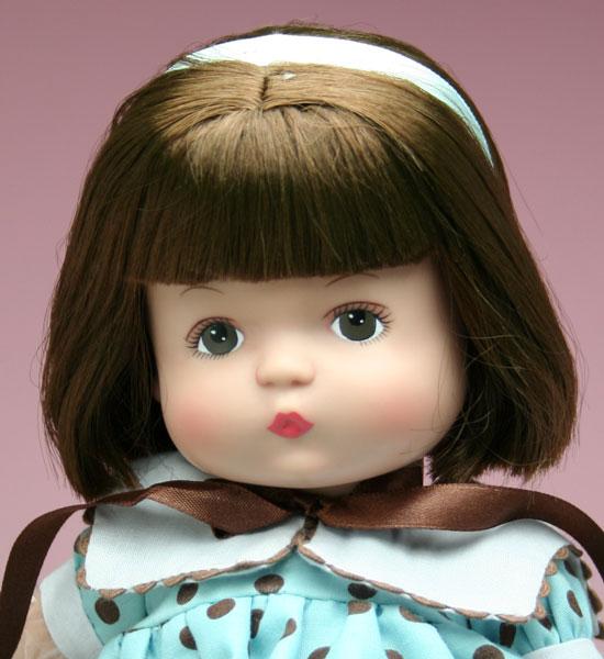 プリティー・リトル・パツィエット 33cm Pretty Little Patsy E8-ECDD-01 お顔アップ