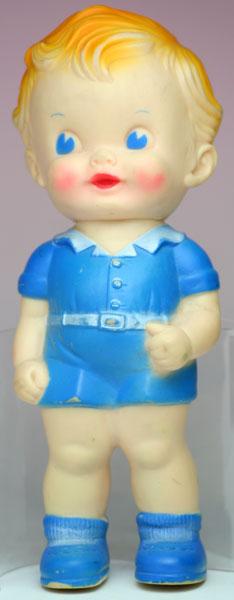 ブルーの男の子1 サンラバー社 THE SUN RUBBER CO.