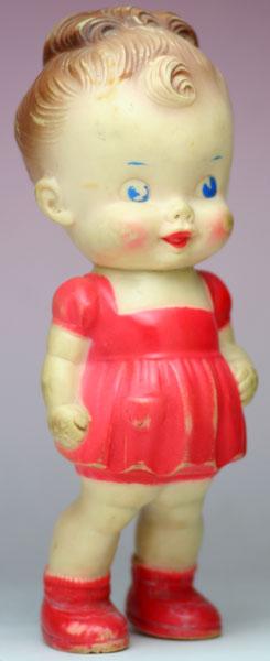 赤い服の女の子 サン・ラバー社 THE SUN RUBBER CO.