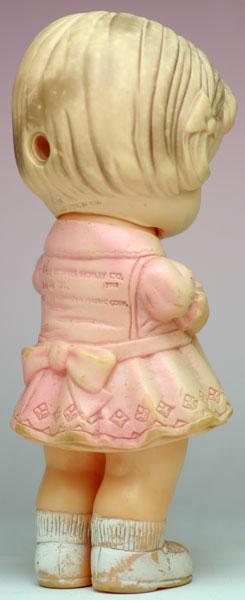 ベアを抱っこした女の子 エドワード・モブレー社 THE EDWARD MOBLEY CO.