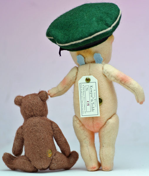 キューピー・アンド・テディ Kewpie & Teddy Collecter's Club Edhition