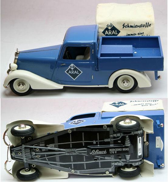 """Mercedes 170V """"ARAL"""" Pickup #00042 1998年度 LE1,000"""